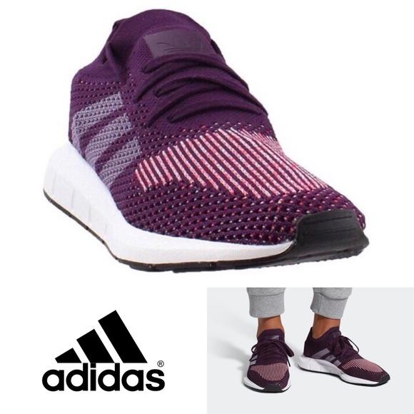 533ea2d48cb NWT Adidas Swift Run Prime Knit Shoes Size 9 NWT